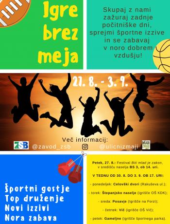 Igre brez meja - JZMZ - ZSB